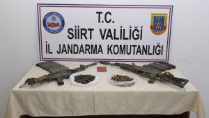 Siirt'te etkisiz hale getirilen 2 teröriste ait mühimmat ele geçirildi