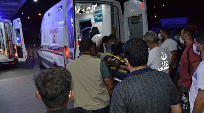 Siirt'te tarım aracı devrildi: 4 yaralı