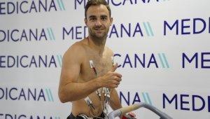 Sivasspor'un yeni transferi Felix, sağlık kontrolünden geçti