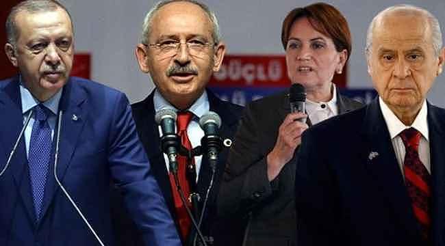 Son seçim anketinden çıkan sonuç, MHP Lideri Bahçeli'yi kızdıracak