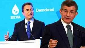 Sonar'ın son anketinden Babacan ve Davutoğlu'nu üzecek sonuçlar çıktı