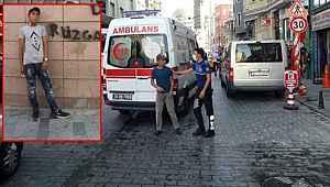 Taksim'de tiner kullanan iki kardeşten abi, diğerini yaktı