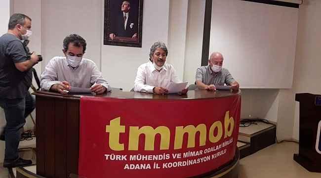 TMMOB, Adana'nın imar sorunlarını gündeme taşıdı
