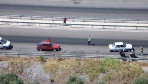 Trafik ihlalleri havadan tespit edildi