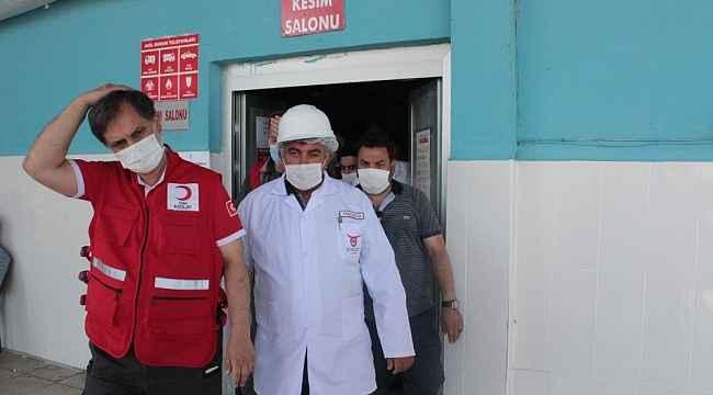 Türk Kızılay Genel Müdürü Altan Ağrı'da