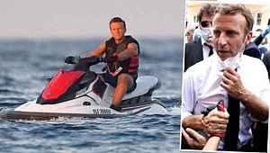 Türkiye'ye karşı haddini aşan Macron'la, İngilizler böyle dalga geçti