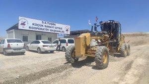 Tuşba Belediyesinden ilçenin sanayisine yol desteği