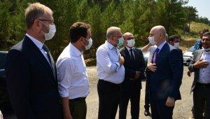 """Ulaştırma ve Altyapı Bakanı Karaismailoğlu: """"Projelerin bir an önce bitmesi için gerekli olan talimatları veriyoruz"""""""