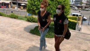 Uyuşturucu taciri genç kız tutuklandı