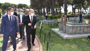 Vali Karadeniz, Kurşunlu Han ve Şehzadeler Park'ı inceledi