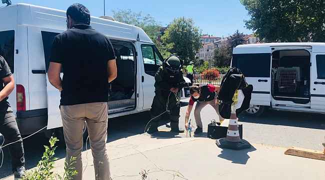 Yalova'da canlı bomba paniği