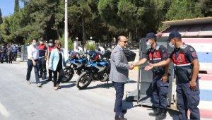 Yavuz güvenlik güçleri ile bayramlaştı