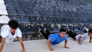 Yunusemreli judocularda hedef büyük