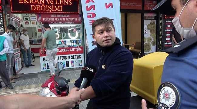 - Tuzla'da maskesiz şahıstan polise tehdit