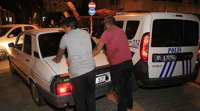 16 yasındaki genç babası alkollü diye direksiyona geçti, polisten kaçarken yakalandı
