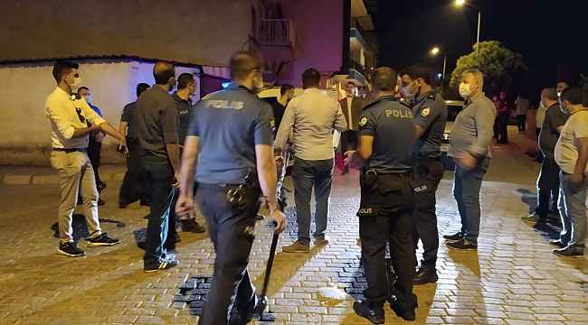 2 grup arasında çıkan kavga, mahalleyi karıştırdı