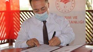 """''Mera Islahı ve Amenajmanı"""" projesi protokolü imzalandı"""