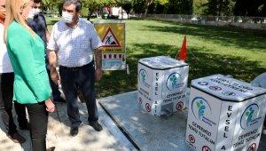 'Yeraltı çöp konteyneri' pilot uygulaması başladı