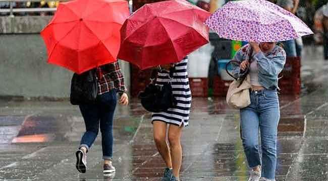 5 bölgede sağanak yağış bekleniyor... Meteoroloji saat verip uyardı