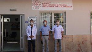 ADÜ 25 Nolu Eğitim Aile Sağlığı Merkezi hasta kabulüne başladı