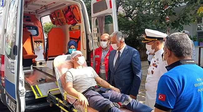 Afrin'de yaralanan Uzman Çavuş Mustafa Kocatürk taburcu edildi