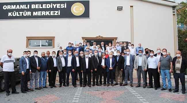AK Parti Milletvekili Uçar Ormanlı'da muhtarları dinledi