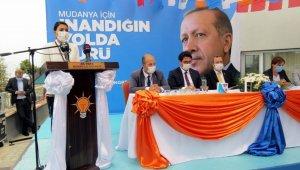 Ak Parti Mudanya'da İnci Söğütlü güven tazeledi