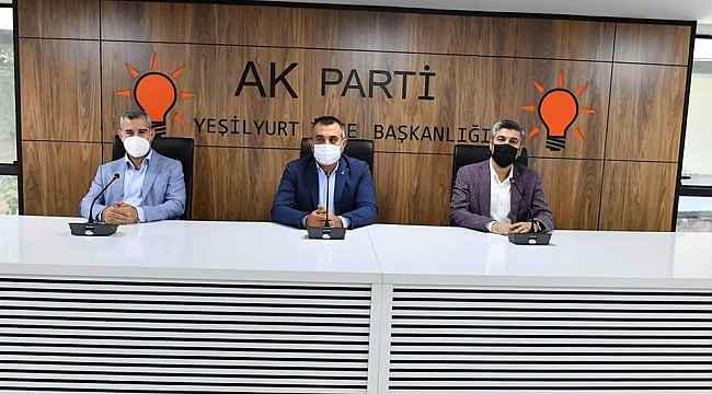 AK Parti Yeşilyurt İlçe kongresi 13 Eylül'de