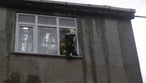 Arnavutköy'de korkutan çatı yangını