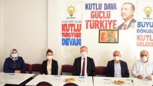 Aslanapa AK Parti ilçe yönetimi ilk toplantısını yaptı