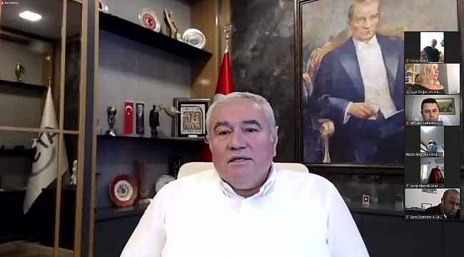 """ATSO Başkanı Çetin: """"Antalya en azla istihdam kaybeden il """""""