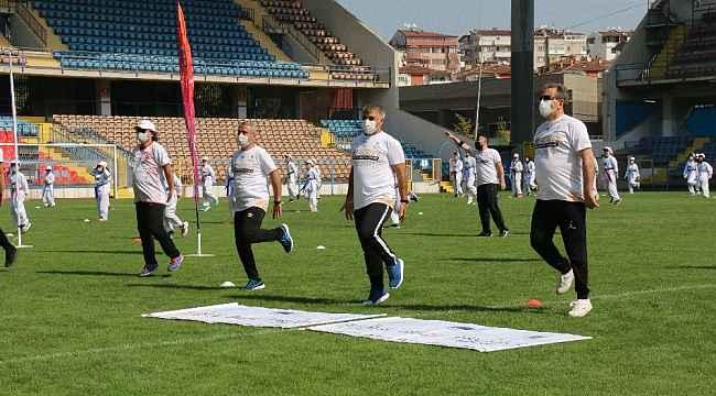 Avrupa Spor Haftası Karabük'te kutlandı