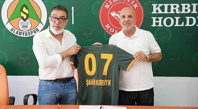 Aytemiz Alanyaspor, Kırbıyık Holding ile 1 yıllık reklam sponsorluğu sözleşmesi imzaladı