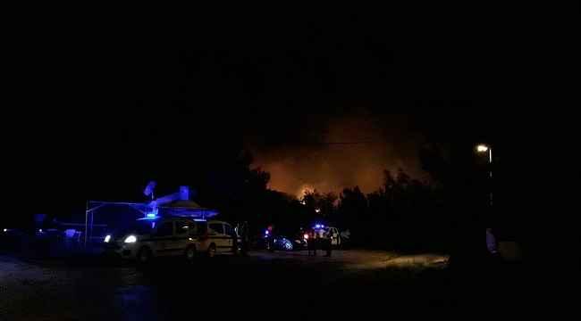 Ayvalık Beydağ'da orman yangını