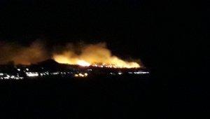 Ayvalık Şeytan Softası'nda orman yangını