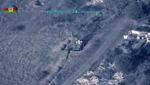 Azerbaycan ordusu Ermenistan ordusunun komuta gözlem mıntıkasını vurdu
