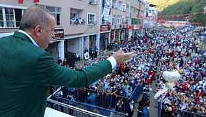 Bakan Koca'ya Cumhurbaşkanı Erdoğan'ın Giresun mitingi soruldu