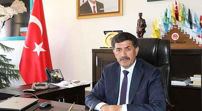 Başkan Aksun, Hocabey Kızılay mahalleri projesinin birinci etap çalışmalarında sona gelindiğini söyledi
