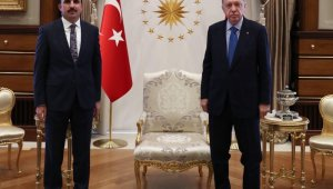 Başkan Altay, Cumhurbaşkanı Erdoğan ile görüştü