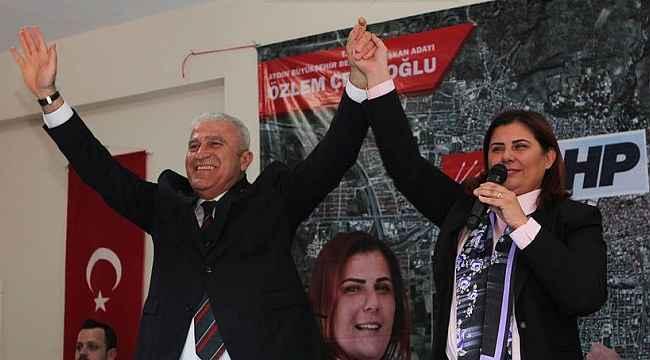 Başkan Çerçioğlu'na bir destek Başkan Atay'dan geldi