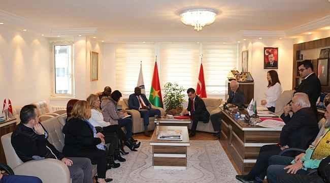 """Başkan Cevahiroğlu: """"İki ülke arasında çalışmalar yapmaya hazırız"""""""
