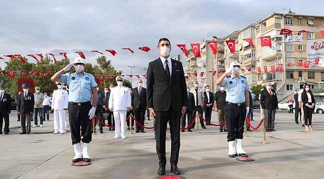 Başkan Gökhan Yüksel şehit ve gazileri unutmadı