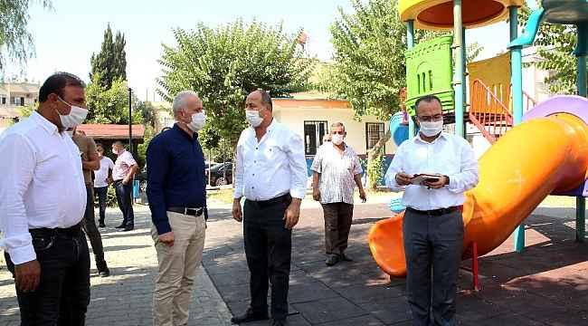 Başkan Gültak, Üçocak Mahallesindeki çalışmaları inceledi