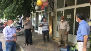 Başkan Kılınç, eski Samsat Caddesi esnafıyla bir araya geldi