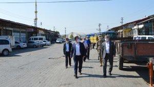 """Başkan Özdemir: """"Maskenizi takın ve fiziksel mesafeye dikkat edin"""""""