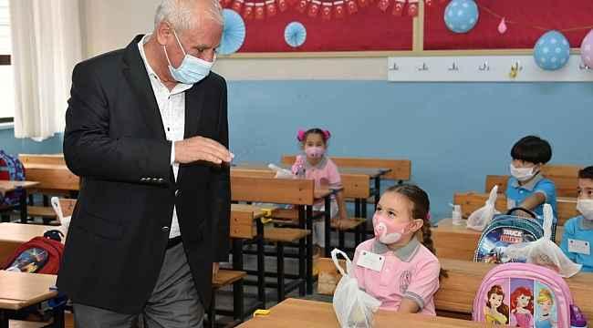 Başkan Tulup'tan öğrencilere helva takviyesi
