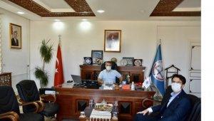 Başkan Tuna'dan İl Müdürü Çelik'e ziyaret