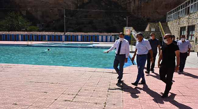 Başkanların İnönü ziyareti