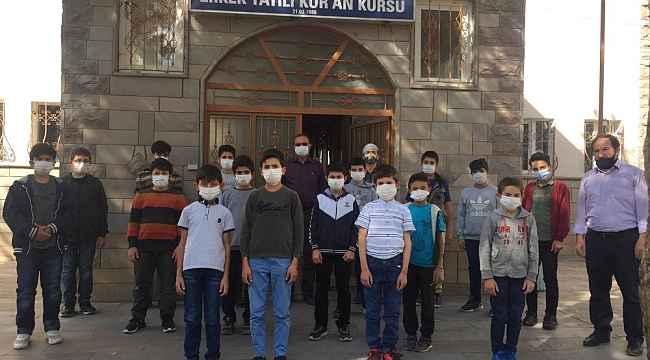Bayburt'ta pandemi sürecinde 102 öğrenci hafız oldu