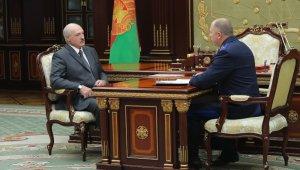 Belarus lideri Lukaşenko gözaltına alınanlar ile ilgili raporları inceledi